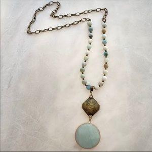 NWT Amazonite Necklace